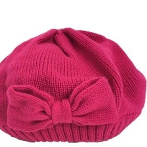 KATE SPADE New York WINTER Beanie BOW Hat Knit